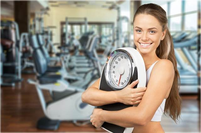 45758364 - women dieting concept