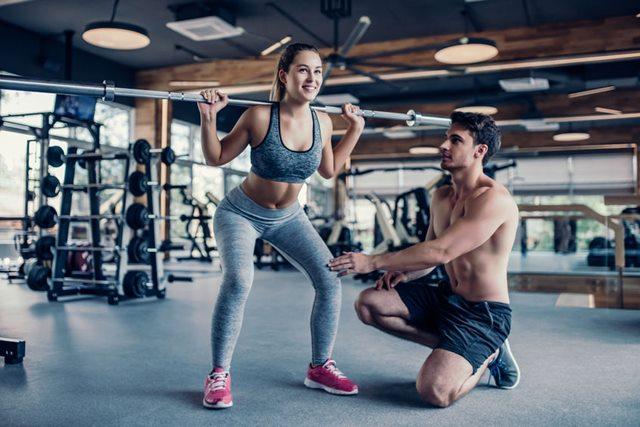 パーソナルトレーナーによるトレーニング指導