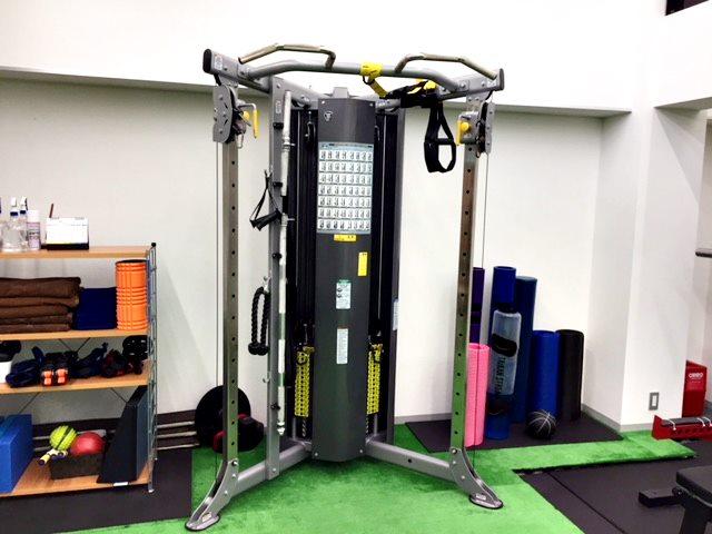 ASPトレーナースクールのトレーニング器具
