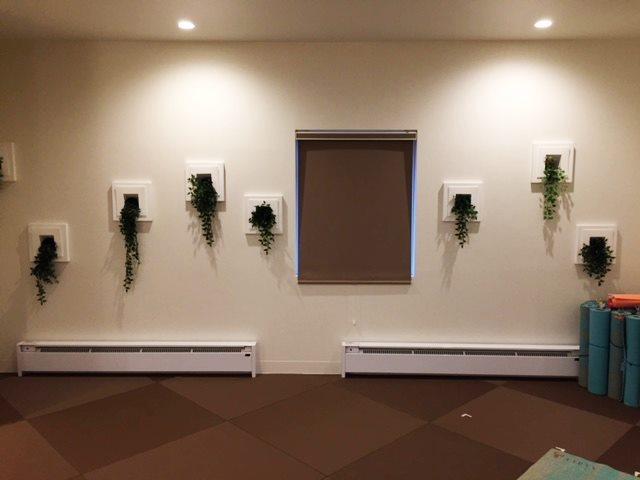 リプティ スタジオの壁面